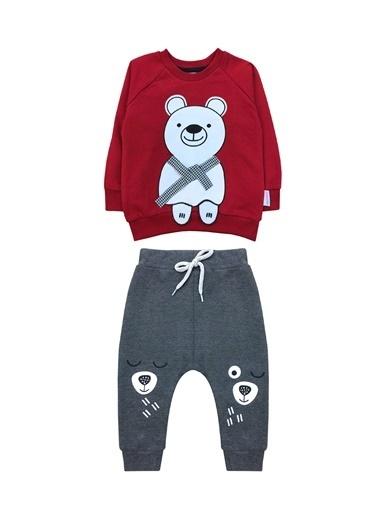 By Leyal For Kids Bebek Seti Bordo